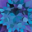 Cristaux de Swarovski 4841 Crystal (001) Heliotrope (HEL)