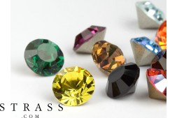 Chatons de Cristales de Swarovski PP32 (Colormix) 100 Piezas