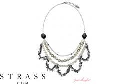 """Collar """"Oslo Statement"""" , con Cristales originales Swarovski"""