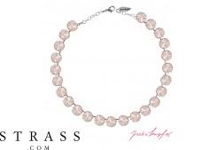 "Collar ""Rivoli"" Silk, con Cristales originales de Swarovski"