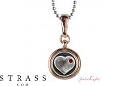 """Collar """"Chelsea Heart"""", con Cristales originales Swarovski"""