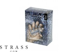 CRYSTAL PIXIE EDGE| DIY Diseño de uñas bricolaje con cristales Swarovski | Nail Box Pixie - Rebel Spirit