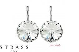 """Pendiente """"Arrondi"""" Crystal, con Cristales originales de Swarovski (14.00mm)"""