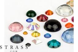 Piedras del Strass | Semi-Perlas No-Hotfix Cristales de Swarovski (Multi Mix) 72 Piezas
