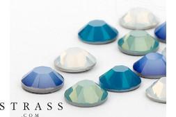 Piedras del Strass No-Hotfix Cristales de Swarovski | SS16 (3.9mm), Pacific Mix 100 Piezas