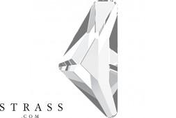 Cristales de Swarovski 2738 MM 10,0X 5,0 CRYSTAL M HF (5230839)
