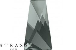 Cristales de Swarovski 2770 MM 16,0X 9,5 BLACK DIAMOND F (1062244)