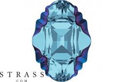 Cristales de Swarovski 4926 MM 14,0X 10,0 AQUAMARINE METBLUEZ F (5247277)
