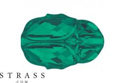 Cristales de Swarovski 5728 MM 12,0 EMERALD (5202256)