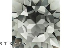Cristales de Swarovski 2028 SS 40 BLACK DIAMOND F (691144)