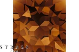 Cristales de Swarovski 3500 MM 17,0X 9,5 SMOKED TOPAZ F (1022136)