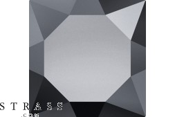 Cristales de Swarovski 4320 MM 6,0X 4,0 JET HEMAT (1096539)