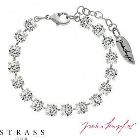 """Brazalete """"Verdosa"""" con Cristales originales de Swarovski (Crystal)"""