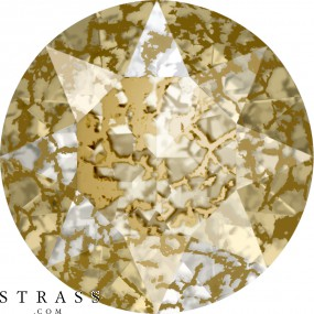 Cristales de Swarovski 1088 PP 32 CRYSTAL GOLD-PAT F (5098035)