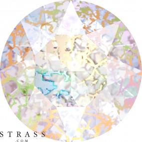 Cristales de Swarovski 1088 Crystal (001) White Patina (WHIPA)