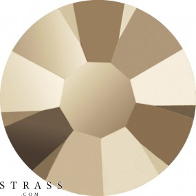 Cristales de Swarovski 2078 Crystal (001) Metallic Light Gold (MLGLD)