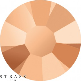 Cristales de Swarovski 2078 Crystal (001) Rose Gold (ROGL)