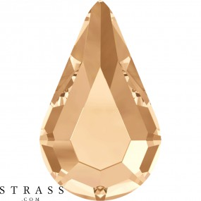 Cristales de Swarovski 2300 MM 8,0X 4,8 CRYSTAL GOL.SHADOW M HF (1105999)