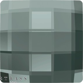 Cristales de Swarovski 2493 MM 10,0 BLACK DIAMOND M HF (1020486)