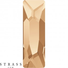 Cristales de Swarovski 2555 Crystal (001) Golden Shadow (GSHA)