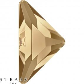 Cristales de Swarovski 2740 Crystal (001) Golden Shadow (GSHA)