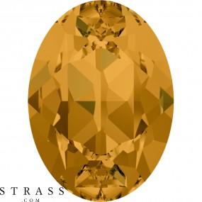 Cristales de Swarovski 4120 Topaz (203)