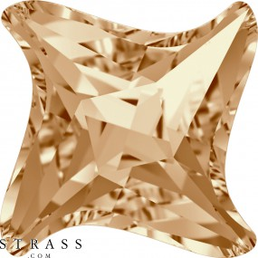 Cristales de Swarovski 4485 MM 6,0 CRYSTAL GOL.SHADOW F (5235917)