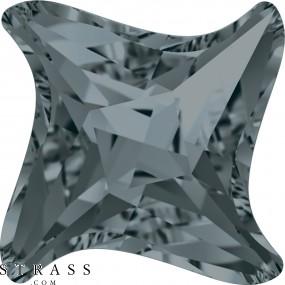 Cristales de Swarovski 4485 Crystal (001) Silver Night (SINI)