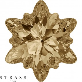 Cristales de Swarovski 4753 Crystal (001) Golden Shadow (GSHA)