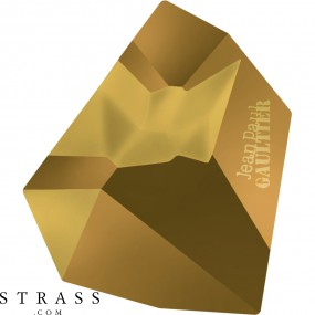 Cristales de Swarovski 4922 MM 28,0X 24,0 CRYSTAL DORADO F T1158 (5206161)