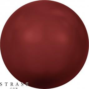 Cristales de Swarovski 5810 Crystal (001) Red Coral Pearl (718)