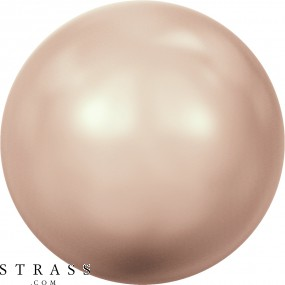 Cristales de Swarovski 5810 Crystal (001) Rose Gold Pearl (769)