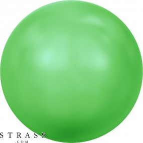 Cristales de Swarovski 5810 Crystal (001) Neon Green Pearl (771)