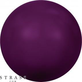 Cristales de Swarovski 5810 Crystal (001) Blackberry Pearl (784)