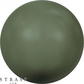 Cristales de Swarovski 5810 Crystal (001) Dark Green Pearl (814)
