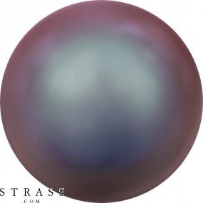 Cristales de Swarovski 5810 Crystal (001) Iridescent Red Pearl (947)