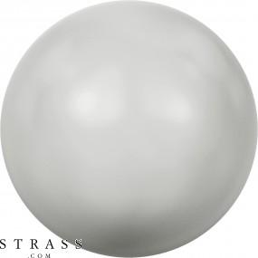 Cristales de Swarovski 5810 Crystal (001) Pastel Grey Pearl (968)