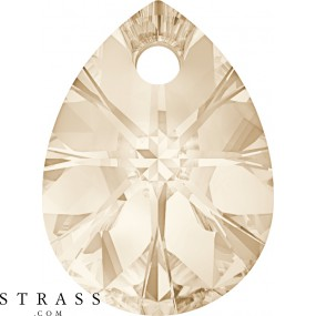 Cristales de Swarovski 6128 Light Silk (261)