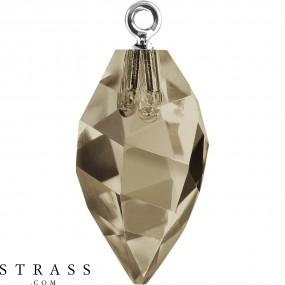 Cristales de Swarovski 6541 Smoky Quartz (225)
