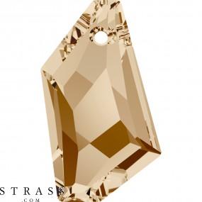 Cristales de Swarovski 6670 Crystal (001) Golden Shadow (GSHA)