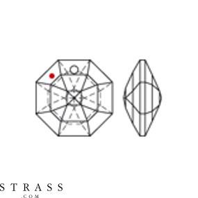 Cristales de Swarovski 8115 MM 12,0 CRYSTAL B (265953)