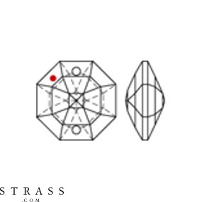 Cristales de Preciosa 8116 MM 14,0 CRYSTAL LILAC B (5039042)