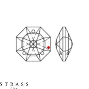 Cristales de Preciosa 8117 MM 16,0 CRYSTAL B (265991)