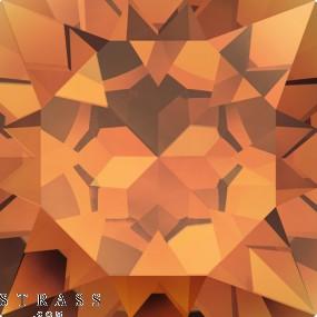 Cristales de Swarovski 2493 Crystal (001) Copper (COP)
