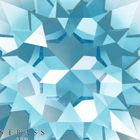 Cristales de Swarovski 2520 Aquamarine (202)