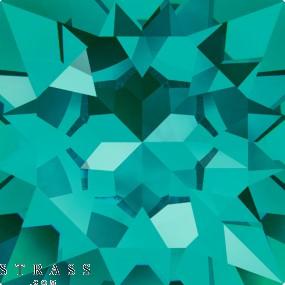 Cristales de Swarovski 2028 SS 12 BLUE ZIRCON M HF (667289)