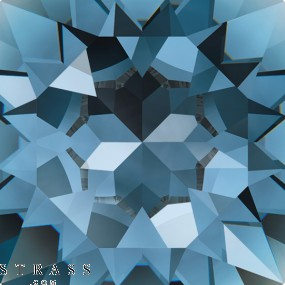 Cristales de Swarovski 6428 Denim Blue (266)