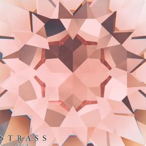Cristales de Swarovski 5020 Vintage Rose (319)
