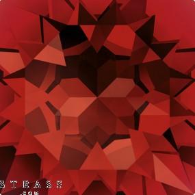 Cristales de Swarovski 4120 Ruby (501)