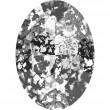 Cristales de Swarovski 4127 Crystal (001) Black Patina (BLAPA)